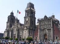 The Cathedral Metropolitana in Mexico-City.
